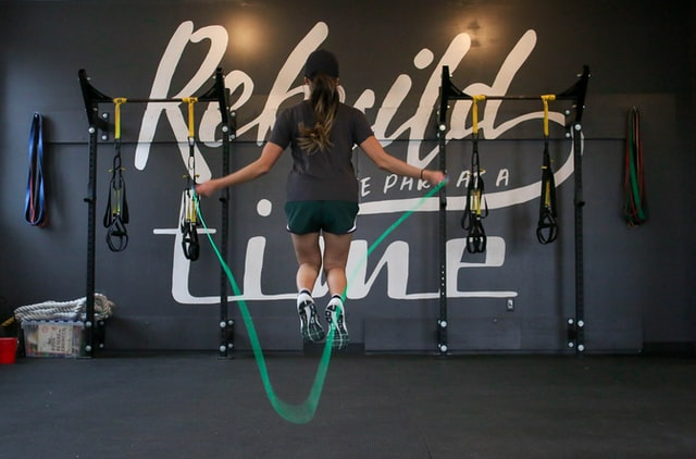 Jump Rope With Weighted Vest